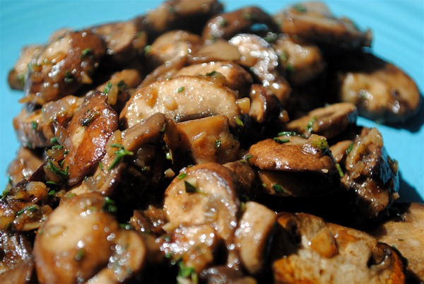 Mushrooms Cooked