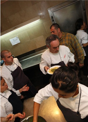 The Family Meal: Home cooking with Ferran Adrià. Image courtesy, Phaidon Publishing