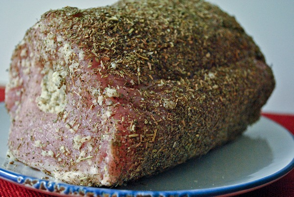 Rubbed Pork Roast
